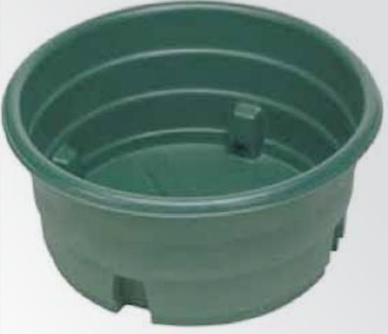 Bacs à eau circulaire