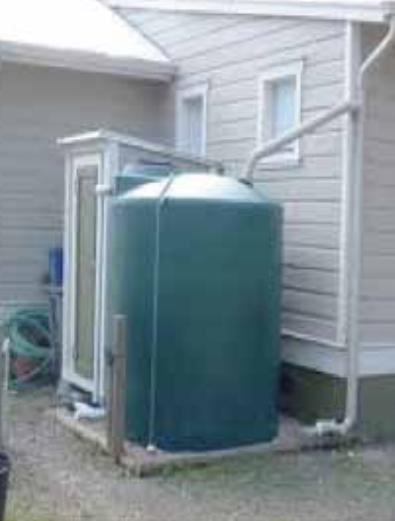 A 5000 liter Rainwater Recuperator