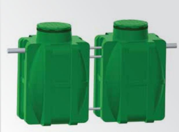 Micro-station d'épuration d'eau usée